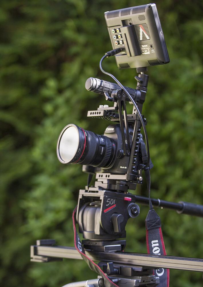 Canon 5D 3 suer un Slider